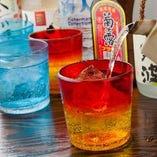 泡盛は沖縄の酒器でご提供します