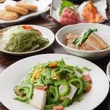 沖縄料理をリーズナブルにお楽しみいただけるご宴会コースは2,000円(税抜)~