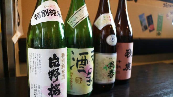 日本酒多数アリ!