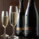 記念日や誕生日にはスパークリングワインを!