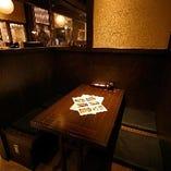 ボックステーブル席(~4名様)