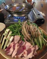 仙台せり鍋