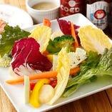 栃木県小山市内の契約農家から仕入れる季節の新鮮野菜【栃木県】