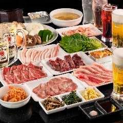 A5仙台牛焼肉食べ飲み放題 肉十八仙台駅前ハピナ 名掛丁店
