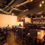 落ち着いた空間で日本酒とお料理をお楽しみ下さい。
