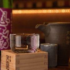 厳選された日本酒を多数取り揃え!