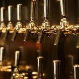 日本各地のクラフトビールをお楽しみ頂けます。