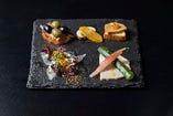 和のテイストを用いたクールモダンなフレンチ・イタリアン。