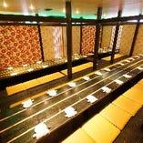 ◆大宴会の20名~最大180名様◆大人数も広々掘りごたつ個室♪
