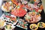 【選べる鍋】海鮮鍋コース[花] 活造り舟盛りコース