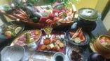 舟盛り付近江牛  肉会席(4名様以上)