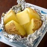 男爵芋のじゃがバター