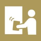 1時間ごとに扉や備品、トイレなど、共用部分の消毒を徹底しております