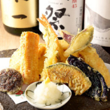 天ぷら季節の盛合わせ