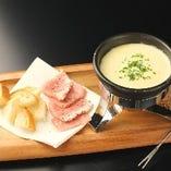 ≪プレミアムコース≫はチーズフォンデュも食べ放題!