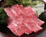 黒毛和牛のカルビ 1,050円 口の中でとろける上質のお肉を!!