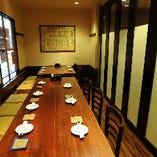 個室風テーブル(10名様~15名様)