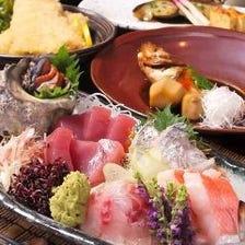 舌菜魚おすすめ料理がほとんど食べれるお得なおすすめコース(2H飲み放題付)