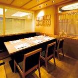 テーブル半個室席(2名~12名様)
