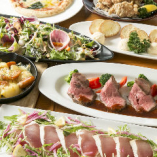 備中高原鶏のから揚げやローストビーフなど全7品『リーズナブルプラン』