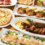 茶美豚のスペアリブ&ローストビーフ!絶品肉料理を堪能『スタンダードプラン』