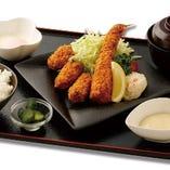 広島県産カキフライ&大海老フライ膳