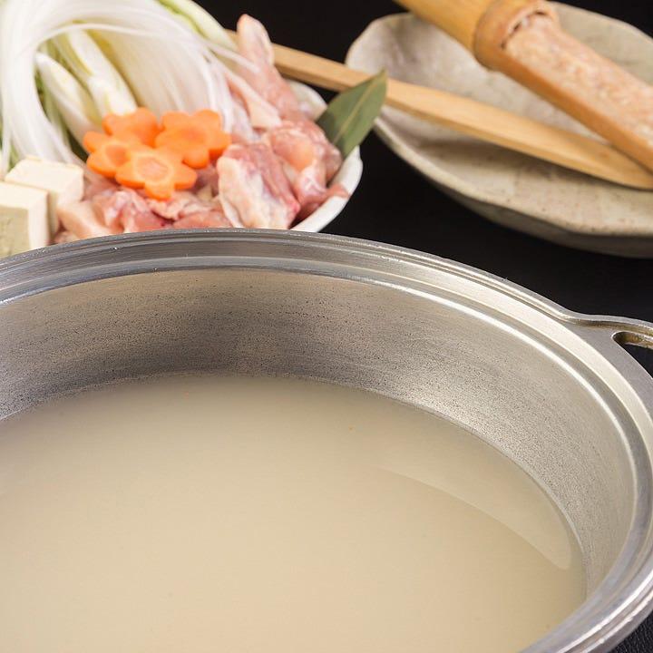 スープが自慢の水炊き