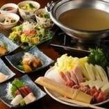 ◆宴会コースの一例 鶏料理専門店ならではの一品