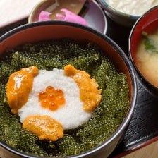 海ぶどう丼 ¥1,300(税抜)