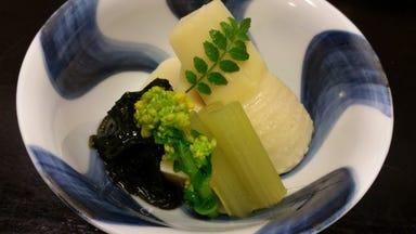 筍料理・竹の子づくし 三栄  メニューの画像