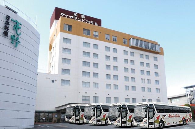 広島ダイヤモンドホテルレストラン「ダイアナ」ご利用下さいませ