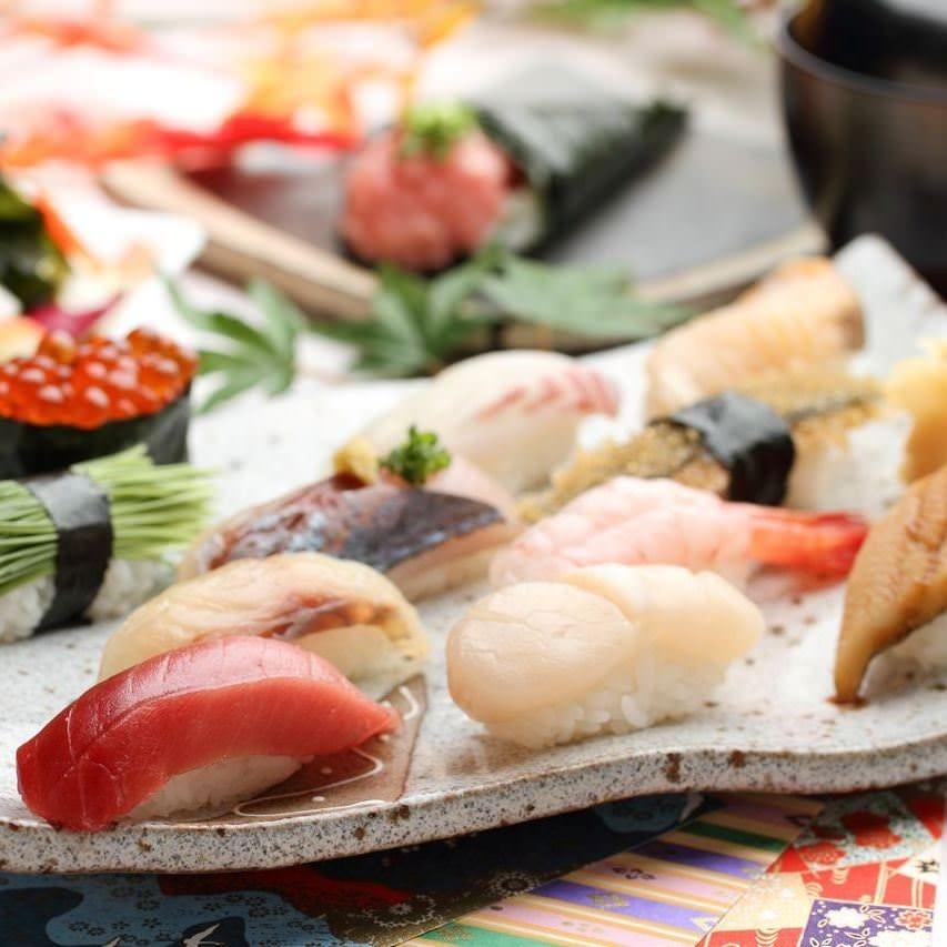すし二乃宮の極上の寿司