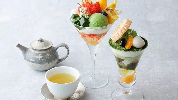 お茶とスイーツのペアリングを楽しむ