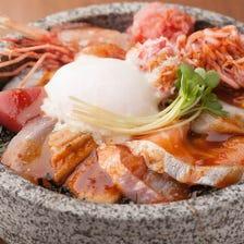 海鮮石焼き丼