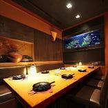 団体様用個室は恵比寿で大人気!ご予約はお早めに!