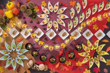 ホテルアソシア静岡 オールデイダイニング パーゴラ コースの画像