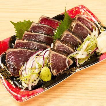 藁焼き鰹たたき 明神丸 イオンモール岡山店 メニューの画像