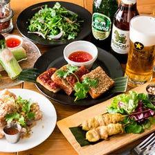 お酒が進む本格タイ料理メニュー