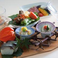 江戸から伝わる伝統の会席料理