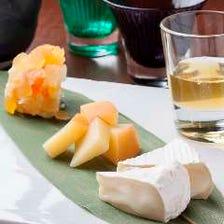 北海道チーズと北海道産酒で!