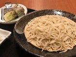 北海道の手打ち蕎麦