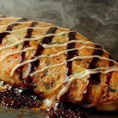 200℃新名物の山芋のふわとろ焼き