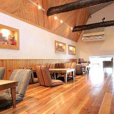 ゆったりカフェスペース