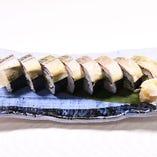 名物 サバの太巻き寿司