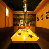 【テーブル個室/6名様まで】楽に座れる広々空間!