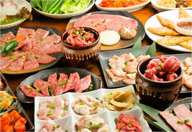 炙 -ABURI- 焼肉・ホルモン 渋谷本店 コースの画像