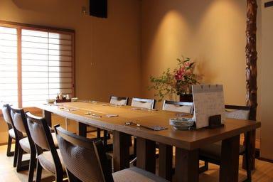 和食 桃栗  店内の画像