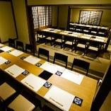 【はなれ】【24名様~最大36名様】完全予約制・上質な雰囲気の個室席。