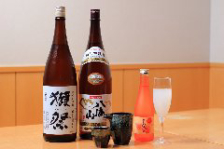 ◆日本酒も季節毎に取り入れています