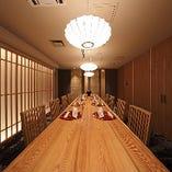 【完全個室】 独立した「HANARE」。最大12名様まで